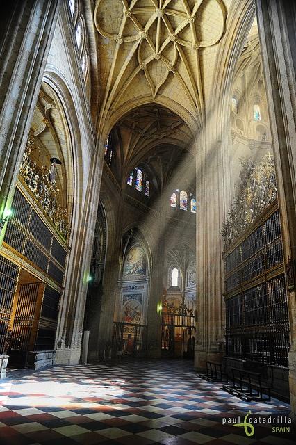 catedral, segovia spain