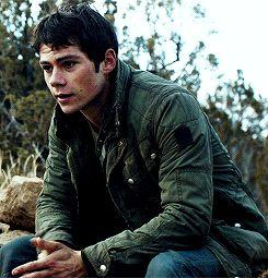 Dylan O´Brien - Thomas gif