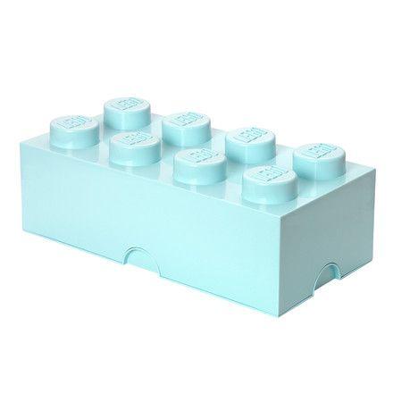 Lego - Storage Brick 8 | Color: Aqua