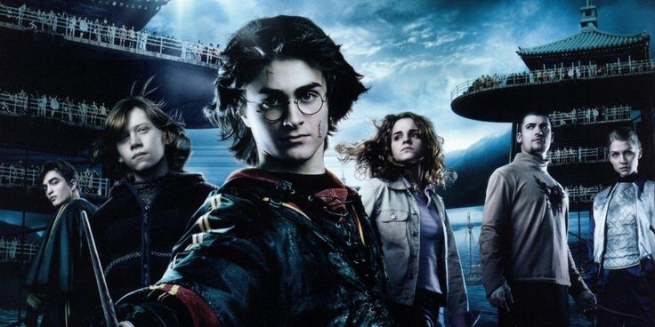 """Harry Potter""(2001-2011).Directed by Christopher Columbus(1,2);Alfonso Cuaron(3);Mike Newell(4);David Yates(5-8).Starring:Daniel Radcliffe,Rupert Grint,Emma Watson.It's a a series of films based on the romances of Harry Potter British writer John. K. Rowling.Film is about a boy who name is Harry Potter.He save a magical world from evil magician. Recommended age-12+"