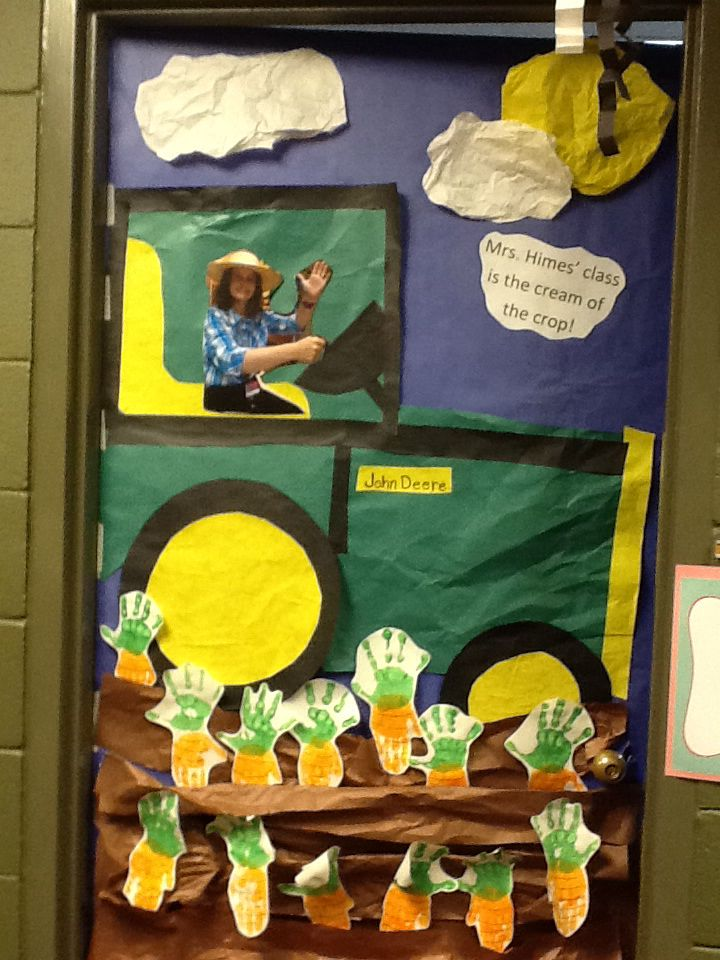 23 best farm classroom theme images on pinterest for Farm door ideas