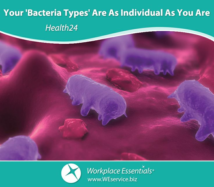 Your 'Bacteria Types' Are As Individual As You Are | Health24 | http://www.health24.com/Lifestyle/Woman/Your-body/Your-bacteria-types-are-as-individual-as-you-are-20140417