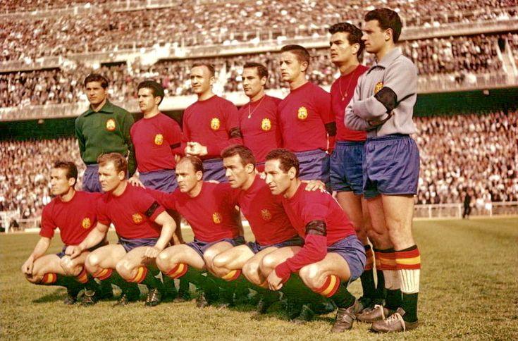 Equipos de fútbol: ESPAÑA Selección 1960-1970