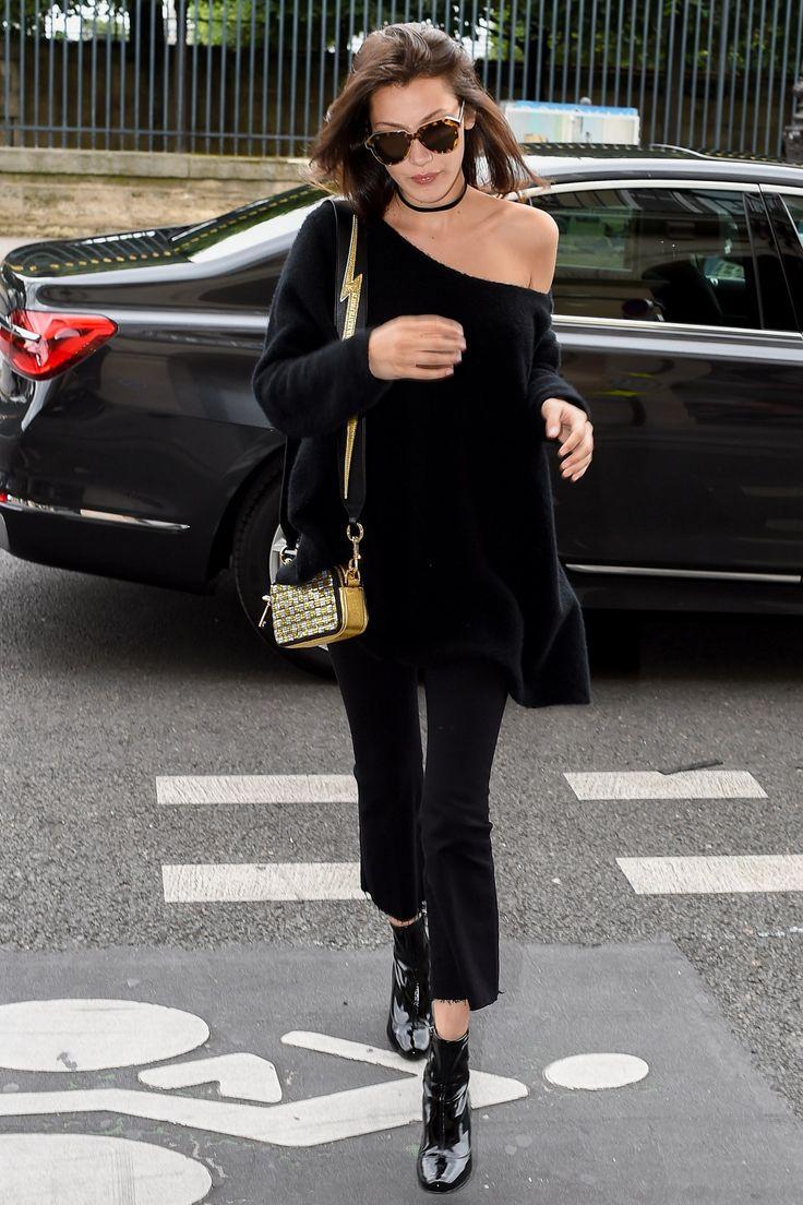 Bella Hadid Street Style - Summer Black (Vogue.co.uk)