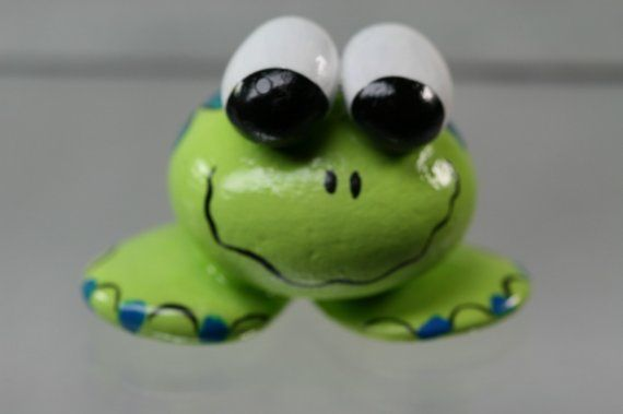 frog made from rocks   Frog Rock Animal or Critter,Miniature