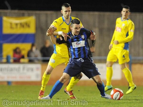 Fryatt for King's Lynn Town FC v Worksop Town 10/12 /13