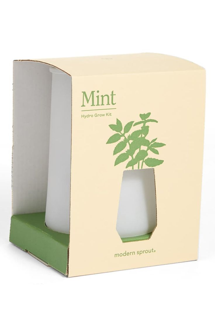 Modern Sprout Tumbler Mint Grow Kit Nordstrom Grow Kit Mint Plants Mint Seeds