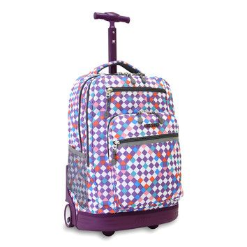 found it at wayfair sundance rolling backpack