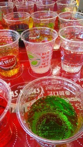 Tasting world tastes of Coca-Cola,  Las Vegas