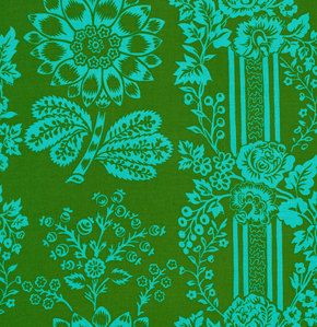 Jennifer+Paganelli+Happy+Land+Candice+in+Green+by+skyerevefabrics,+$9.50