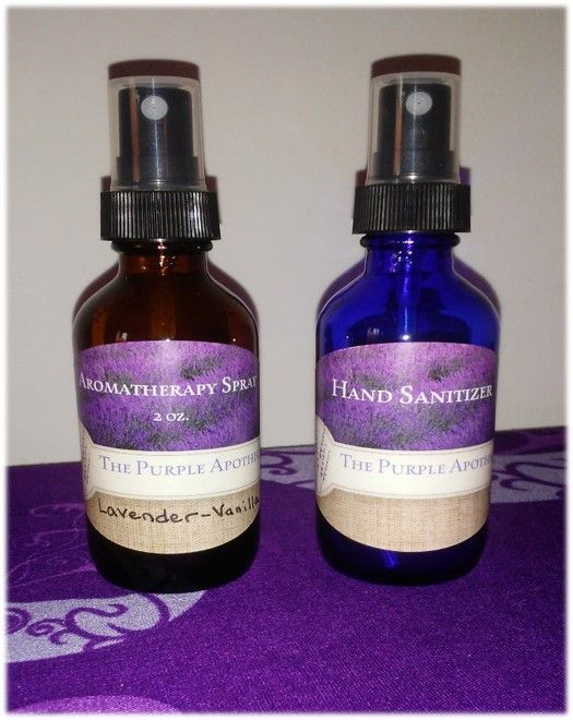 Aromatherapy Spray And Natural Hand Sanitizer Natural Hand