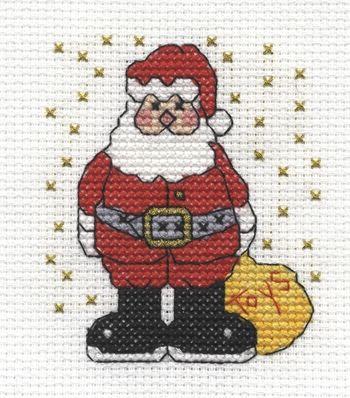 DMC Free Cross Stitch Patterns - Santa