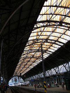 Praha Hlavni Nadrazi (Prague Main Train Station)