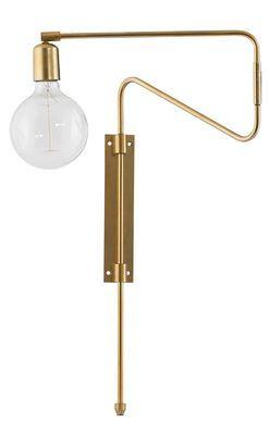 Applique Swing / Métal - Bras pivotant Laiton - House Doctor - Décoration et mobilier design avec Made in Design