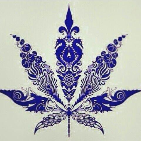 Ganja cannabis leaf                                                                                                                                                      More