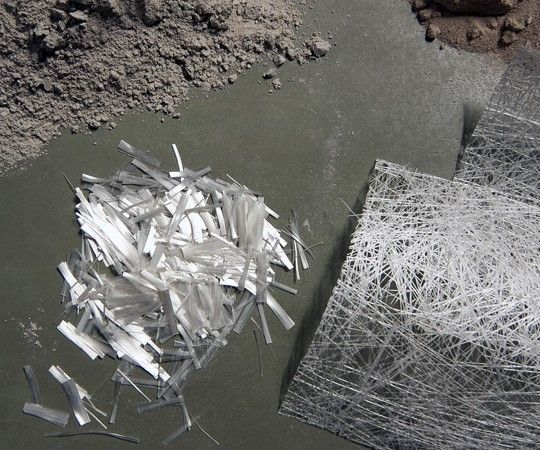 Beton-Materialien