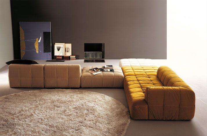 Moderne Polstermbel Wohnzimmer Wei Ecksofa Modular Grner Teppich