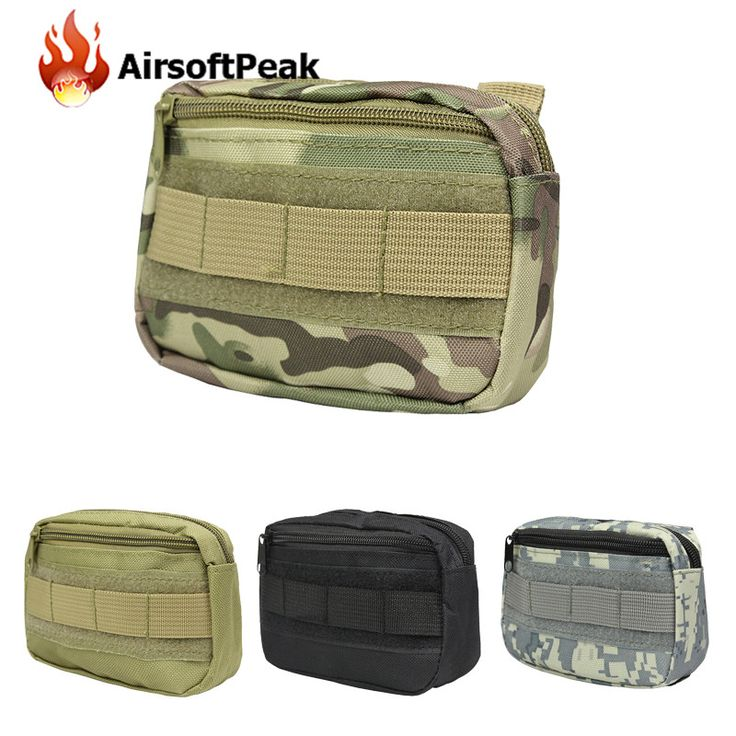 Outdoor Hunting Bags Tactical Molle Accessories Bag Military Camouflage EDC Pouches Sundries Bag Storage Pouch Waist Pack