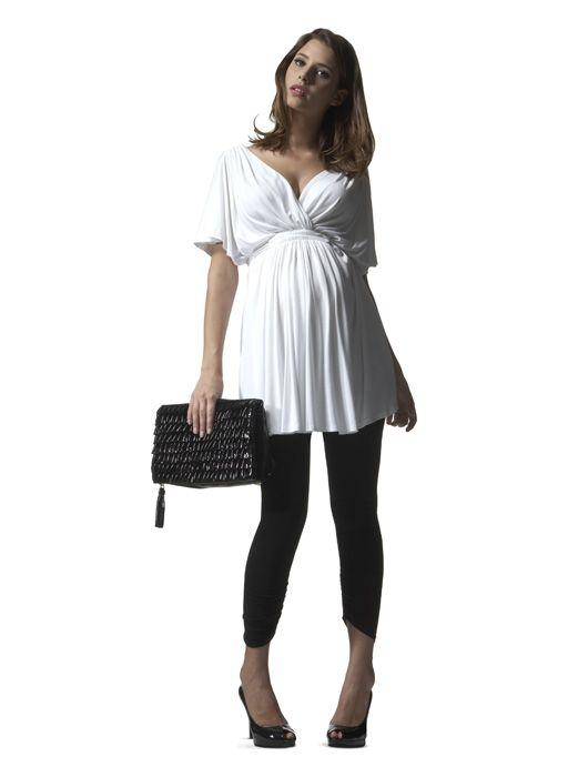 Isabella Oliver Grecian maternity top