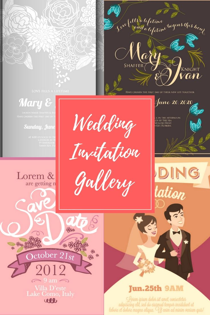 High Quality Wedding Invitations Design Template Online For Your Own ...