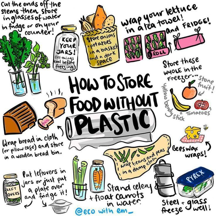 how to store food without plastic | zero waste, eco
