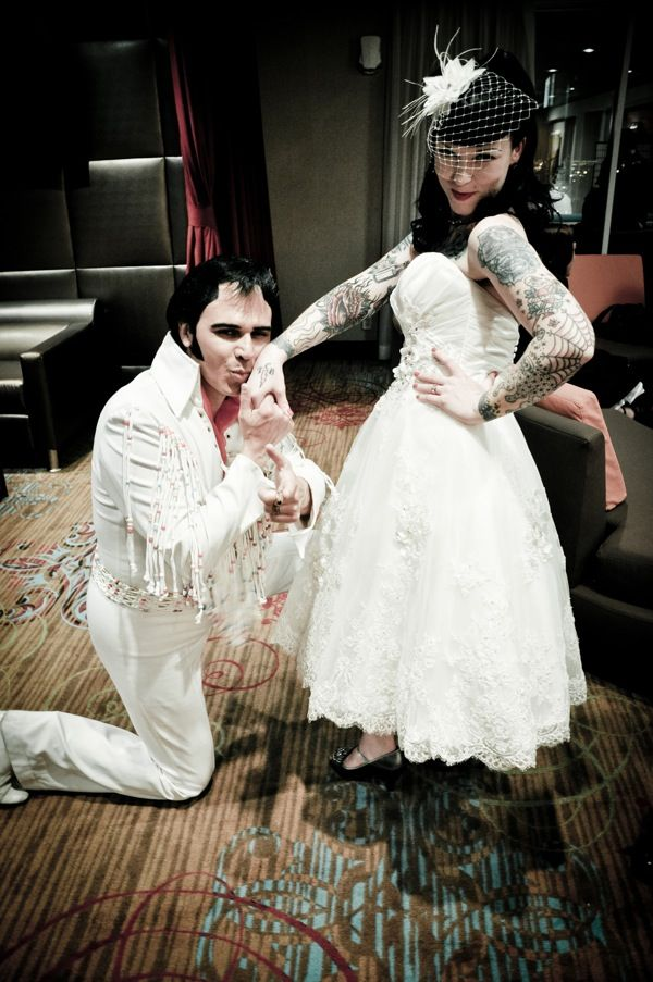 Have Elvis perform your wedding, and serenade the guests...u get married in Vegas than Elivis is a must!