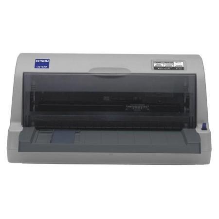 Epson LQ-630  — 22965 руб. —  EPSON LQ-630 - компактный, доступный по цене и исключительно надежный новый 24 -х игольчатый матричный принтер EPSON. Предназначен для быстрой и качественной печати на специальных бумажных носителях различных размеров. Обладая высокой скоростью печати 360 символов в секунду, надежностью, гибкостью и высоким качеством печати, LQ-630 является идеальным решением для любого бизнеса, включая банки, магазины, гостиницы, страховые компании, ЗАГСы, почтовые отделения…