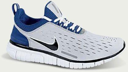 Nike Free 5.0 Dames Bleu Noir Cloche Obsolète