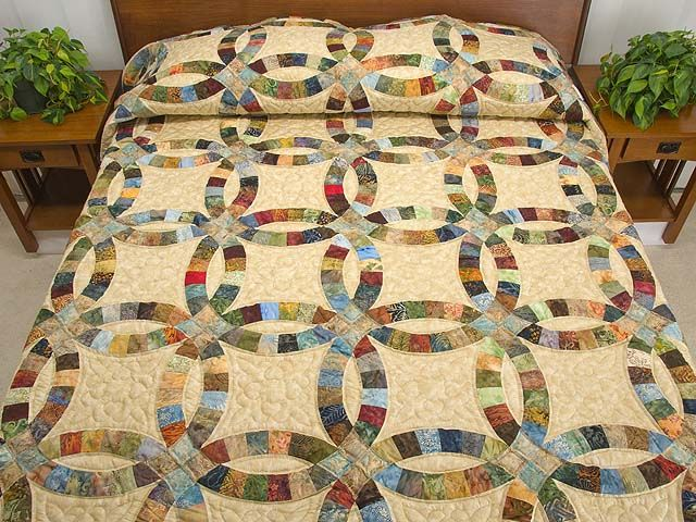 ring quilts on pinterest double wedding rings wedding ring quilt