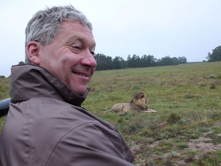 Yes we were this close to a wild free ranging lion at Gondwana Reserve SA