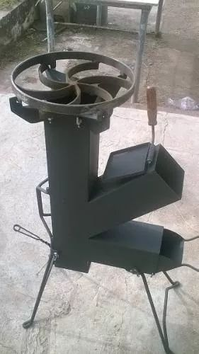 Cocina Cohete/rocket Stove- Totalmente Desarmable - $ 1.990,00