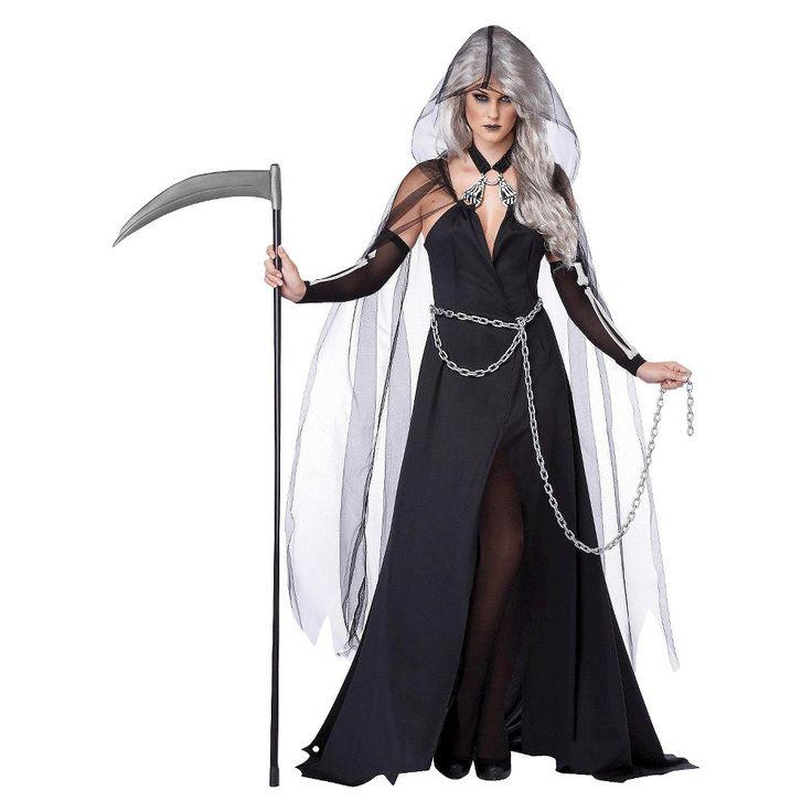 Women's Grim Reaper Costume