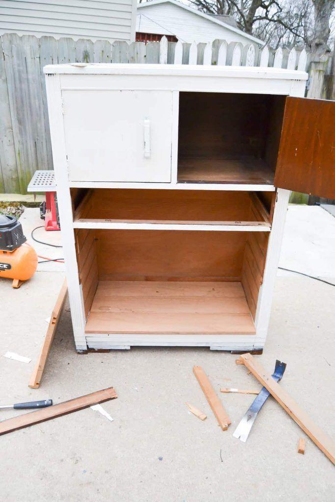 best 25 broken dresser ideas on pinterest dress up stations dresser ideas and no dresser storage. Black Bedroom Furniture Sets. Home Design Ideas