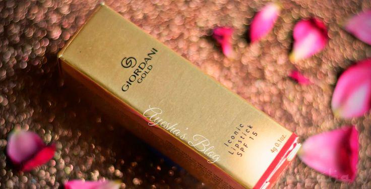 REVIEW: Oriflame Giordani Gold Iconic Lipstick!