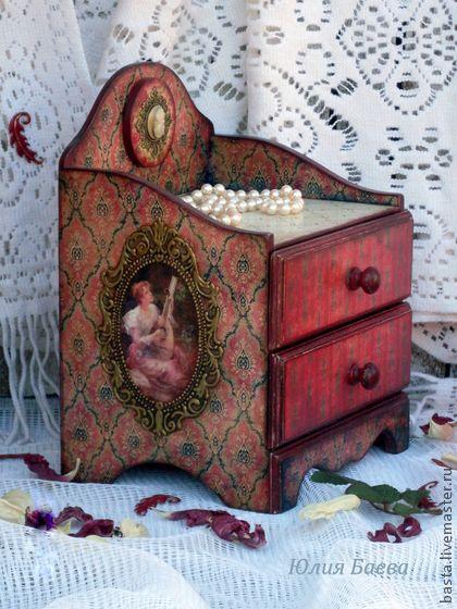 """Мини-комоды ручной работы. Ярмарка Мастеров - ручная работа Комод """"Lady"""". Handmade."""