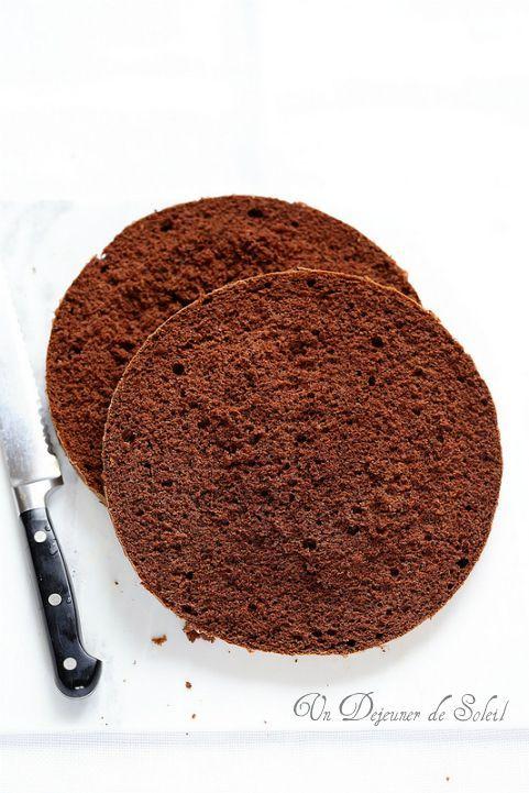 Génoise au cacao