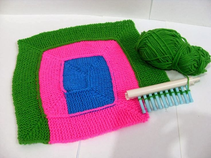 Picture courtesy from google       This blanket is named ' 10 stitch blanket' because it was made using 10 pegs of knitting loom/ knitt...