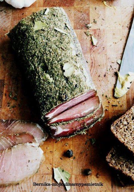 Bernika - mój kulinarny pamiętnik: Schab z pończochy