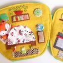 Réka róka pöttyös bögre házikója-játszókönyvecske, Baba-mama-gyerek, Játék, Készségfejlesztő játék, Plüssállat, rongyjáték, Meska