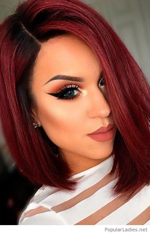 amazing red hair and makeup inspire