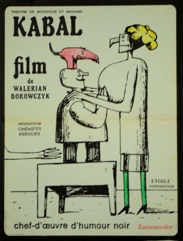 Theatre DE Monsieur ET Madame Kabal Walerian Borowczyk 1967 40x60 Borowczyk | eBay