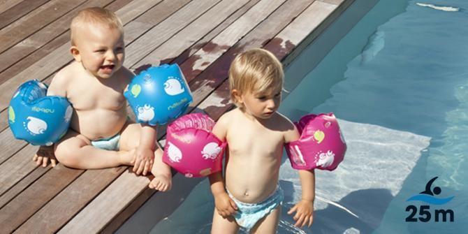 Bebés al agua… ¿cuándo y cómo?- #natación #bebés  #Nabaiji #Decathlon