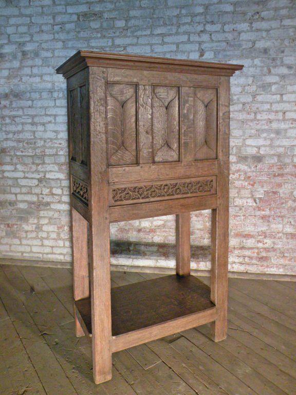 Gothic Freestanding Cabinet 4