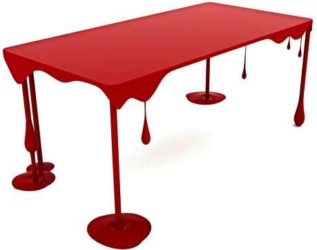 Blood-Splattered Furniture