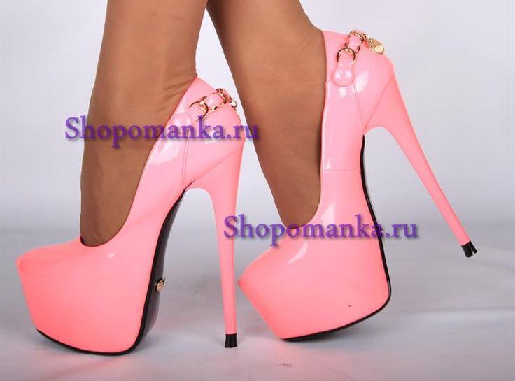 Картинки розовые туфли
