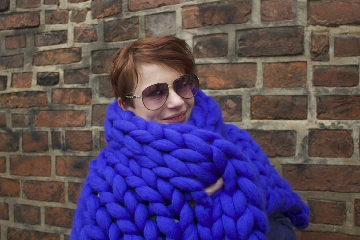 Get Best Chunky Knit Wool Blanket at Affordable Rates. http://www.saintwools.com/