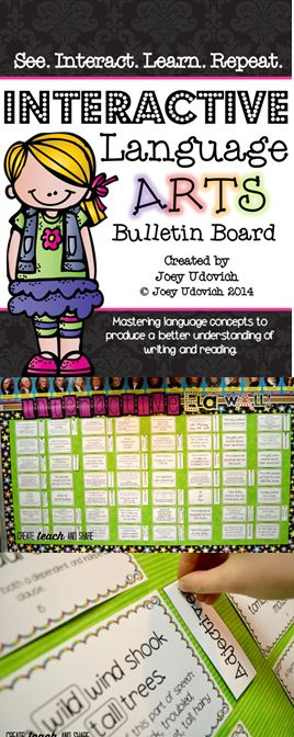 This is a wonderful way to practice core language arts in your classroom!  Everything from singular and plural nouns, to antecedents, and verb tenses.  This file has EVERYTHING!!  Use it as a whole group or during your Daily 5 rotations.  I have done this in my classroom for years and it has been very effective...now it is just a whole lot better! :)  Come check it out! $