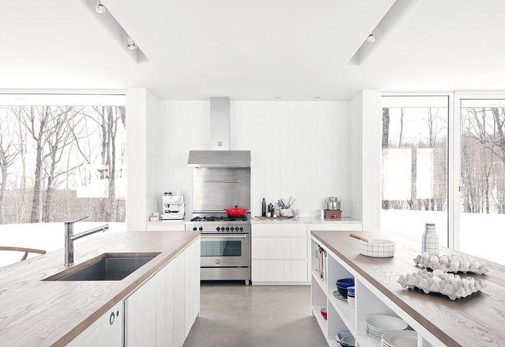 cuisine moderne et minimaliste par La Shed
