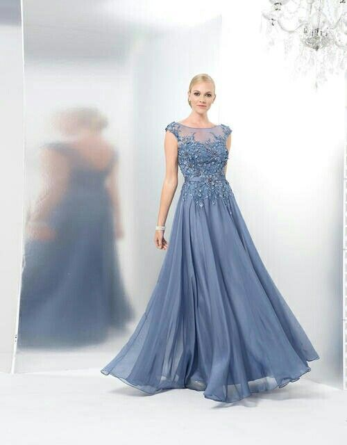 Marsoni Meghan Sweetheart Dress In Slate Blue Gorgeous Gowns And