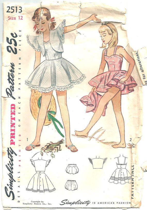 Modèles de panty vintage